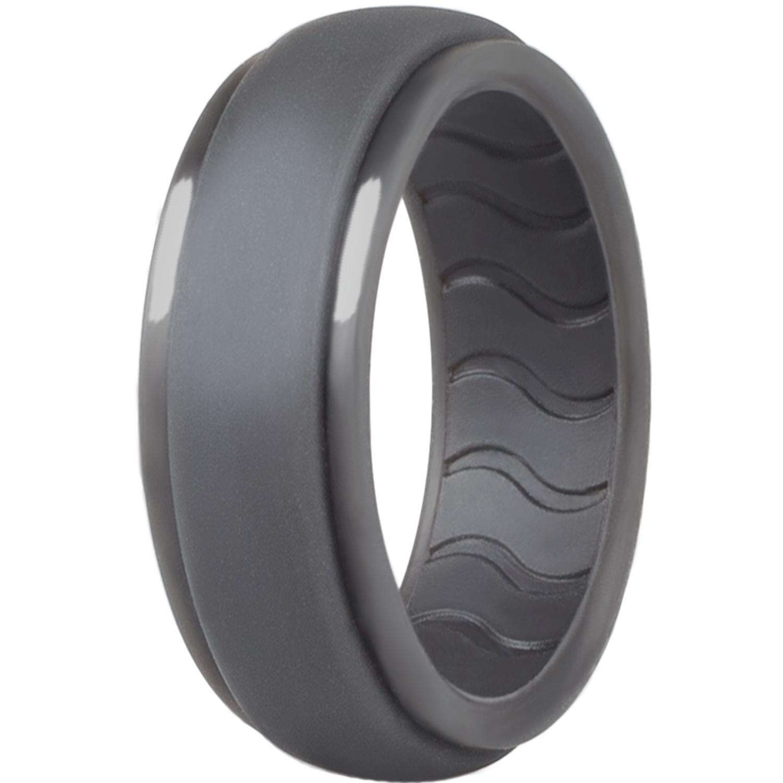 Dookeh Silicone Wedding Ring for Men – Mens Silicone Wedding Band
